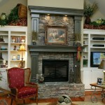 Custom Built Fireplace Mantle
