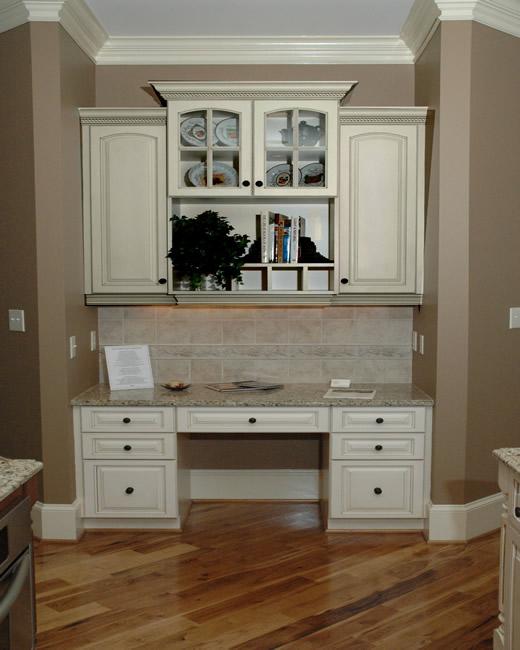 Custom Desk Cabinets