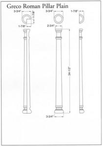 Greco Roman Pillar Plain