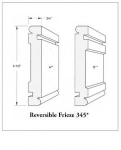 Reversible Frieze 345