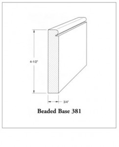 Beaded Base 381